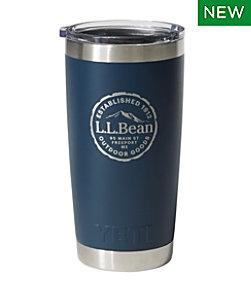L.L.Bean Yeti Rambler Tumbler Cut Log 20 Ounce